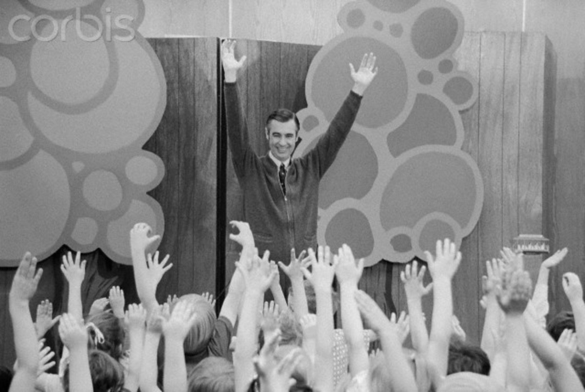 Mr. Rogers had a gift for entertaining and teaching children.