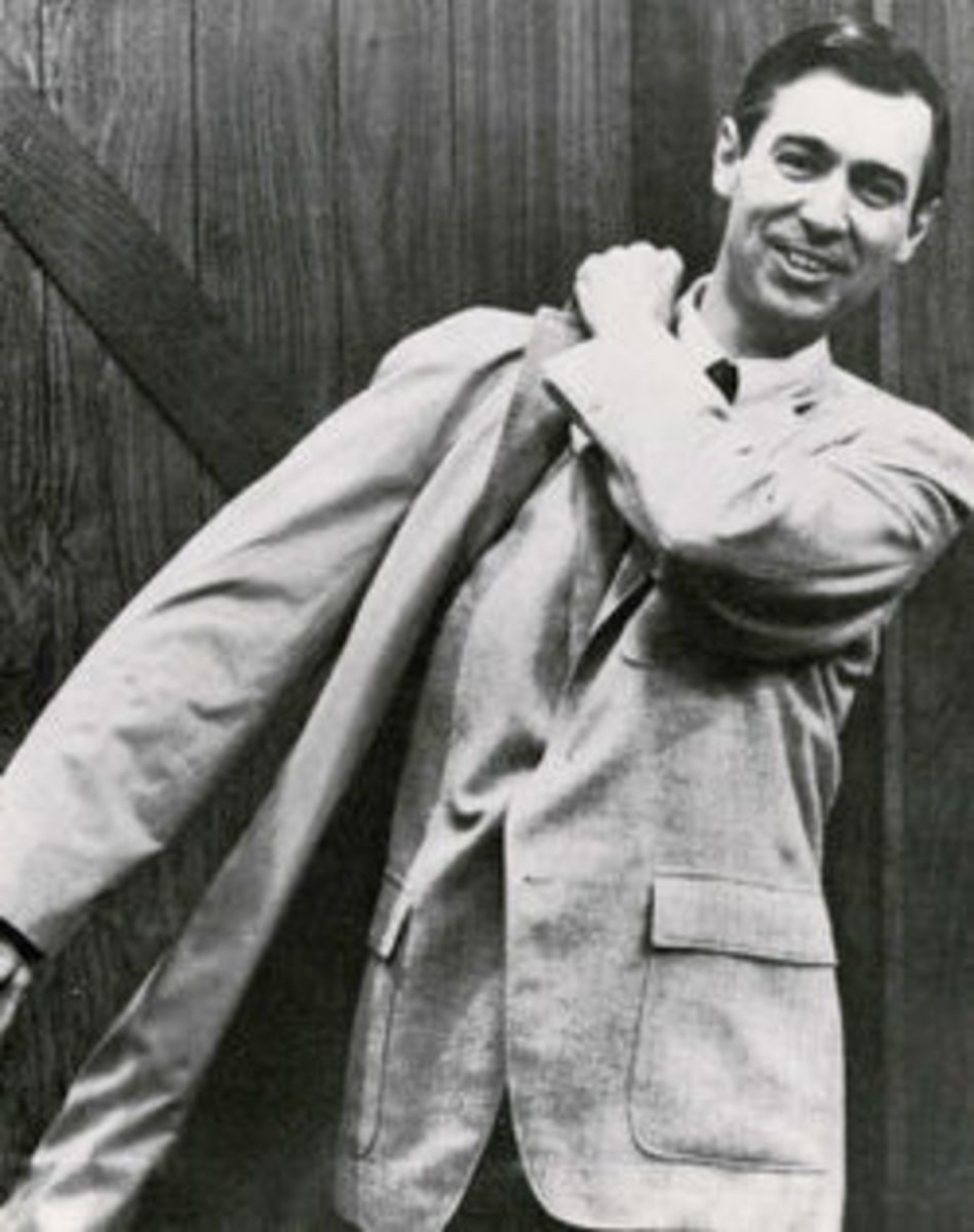 Mr. Rogers in in the late 1960's