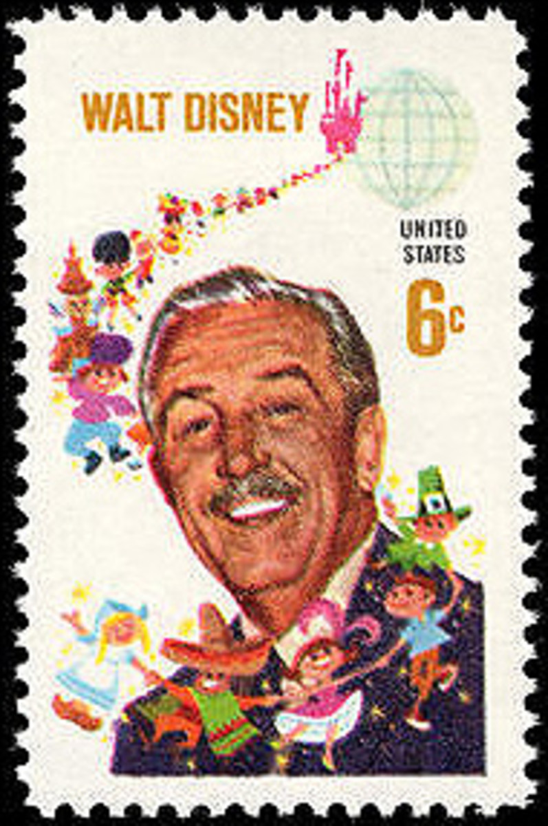 By US Postal Service Artwork by C. Robert Moore & Paul E. Wenzel. Moore designed the stamp and Wenzel painted the portrait .