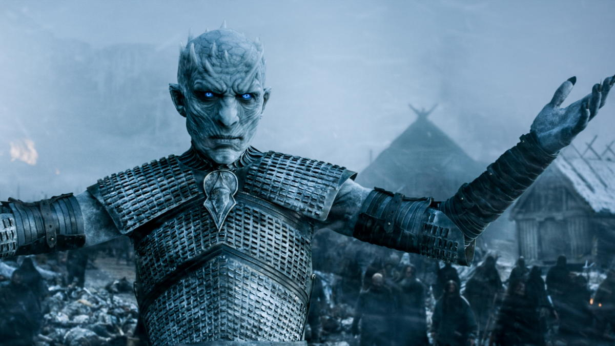 The White Walker King after the battle of Hardhome.