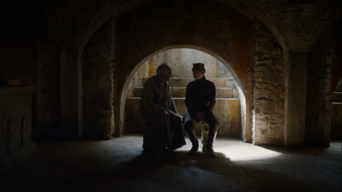 The High Sparrow fights for control of Tommen.