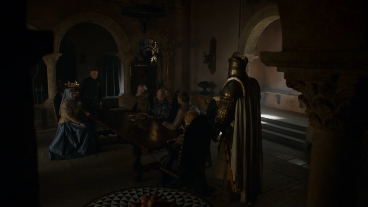 The small council is at odds with the renewed Lannister boldness.