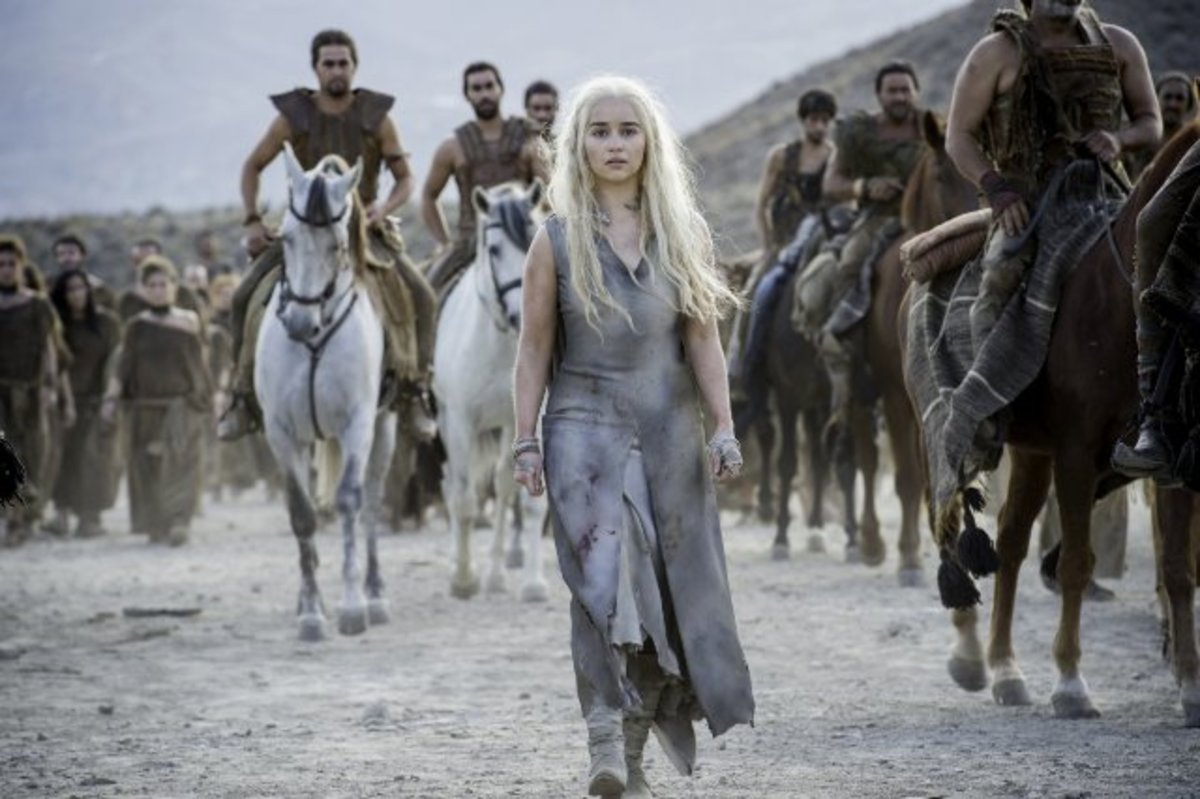Dany continues her walk of shame.