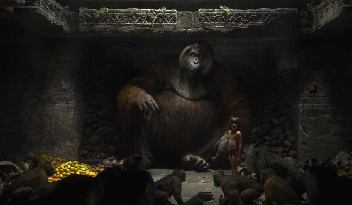 Christopher as King Louie in Disney's The Jungle Book.
