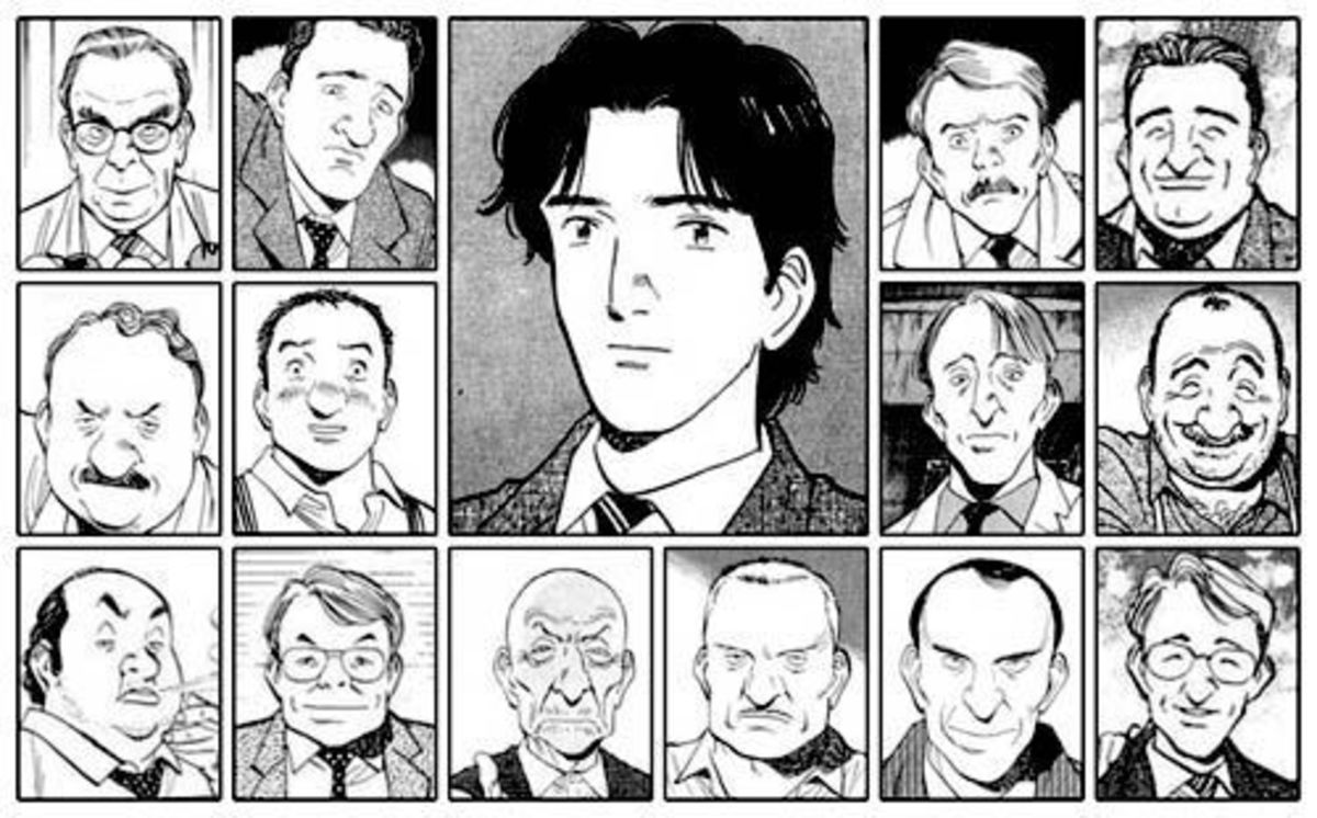 These are just a few of the characters from the Monster series.