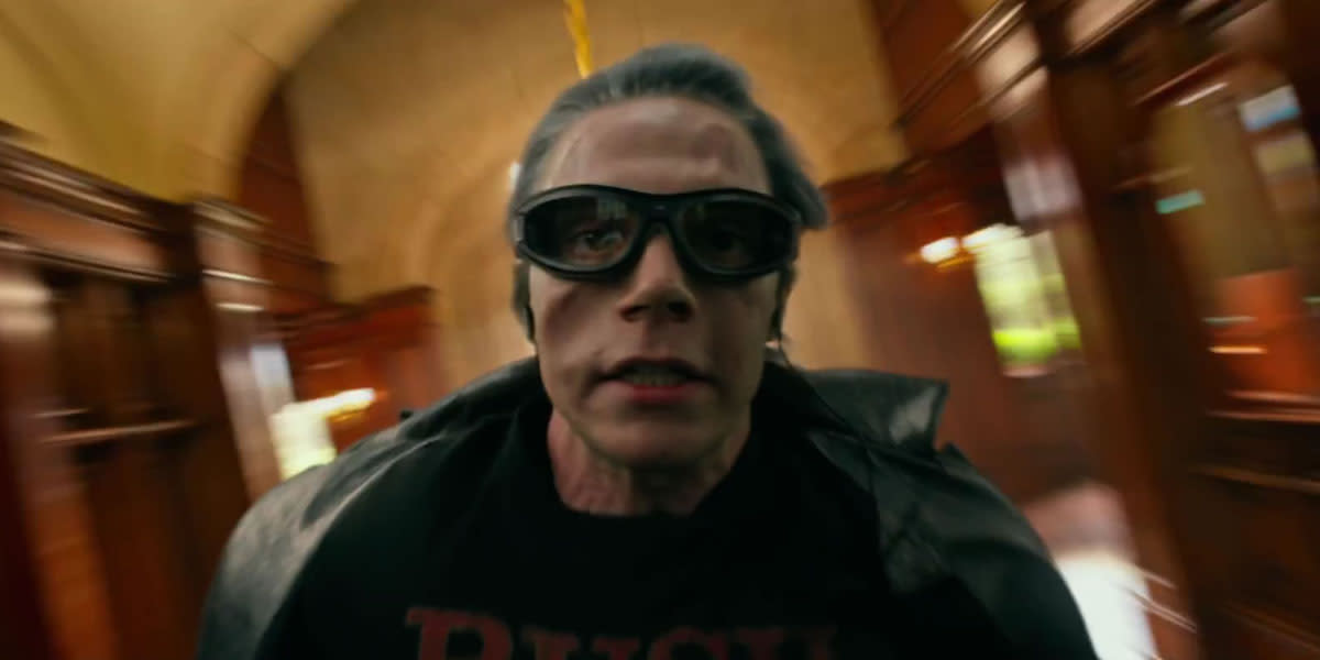 Luke Evans reprises his role as Quicksilver, which is always the comedic highlight of the film