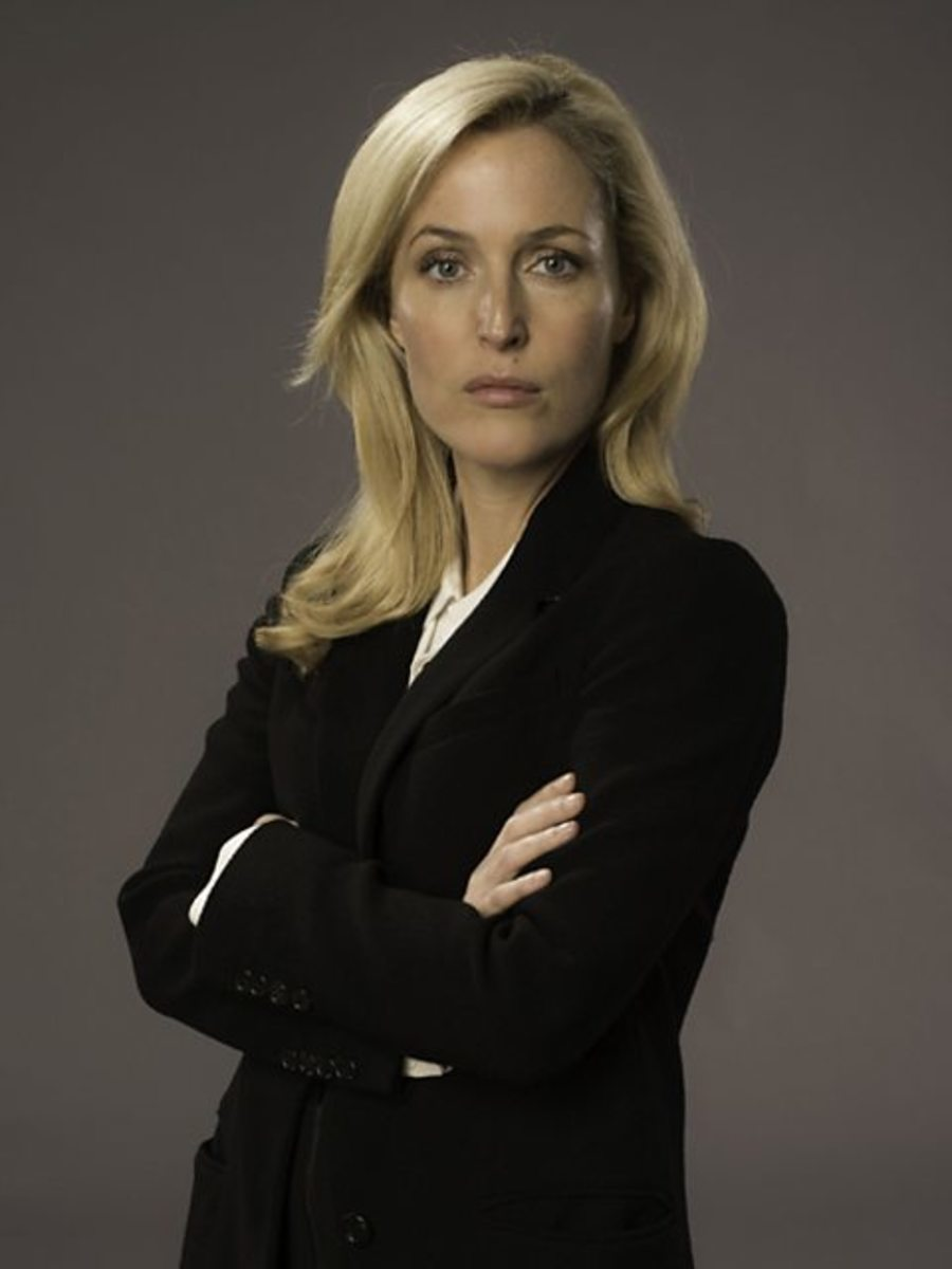 The main character in the a British crime drama television series The Fall