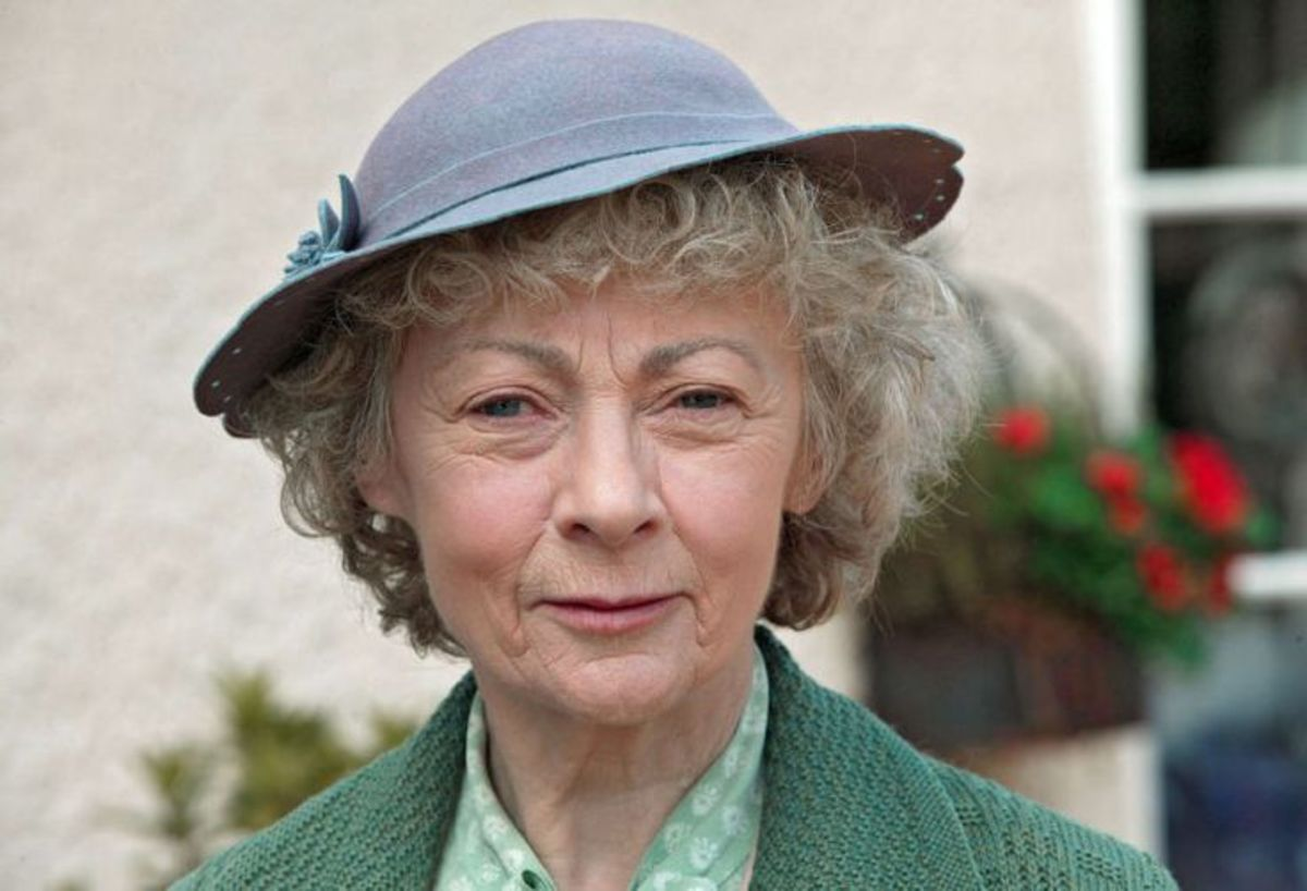 More straightforward and confident in manner, Geraldine McEwan stars in the series on Acorn TV.