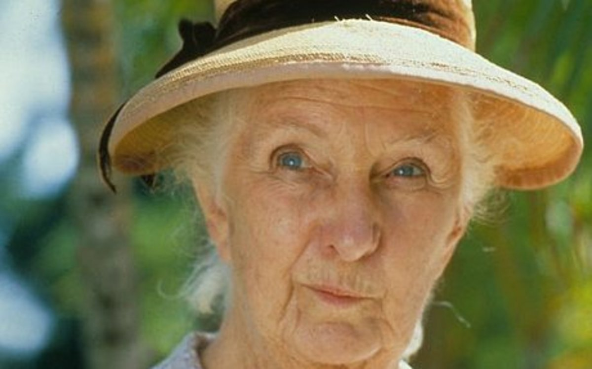 Joan Hickson also plays Miss Marple in  Agatha Christies classic mystery stories.