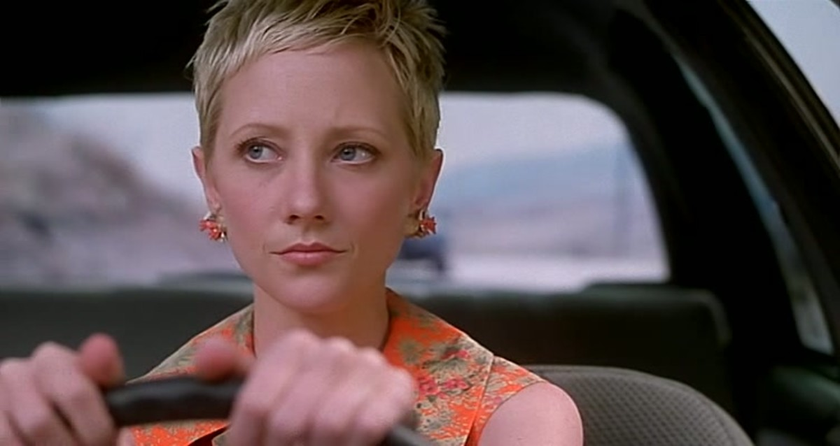 Anne Heche as Marion Crane.