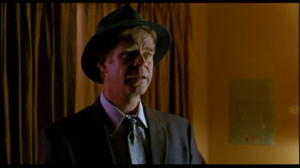 William H. Macy is Detective Arbogast
