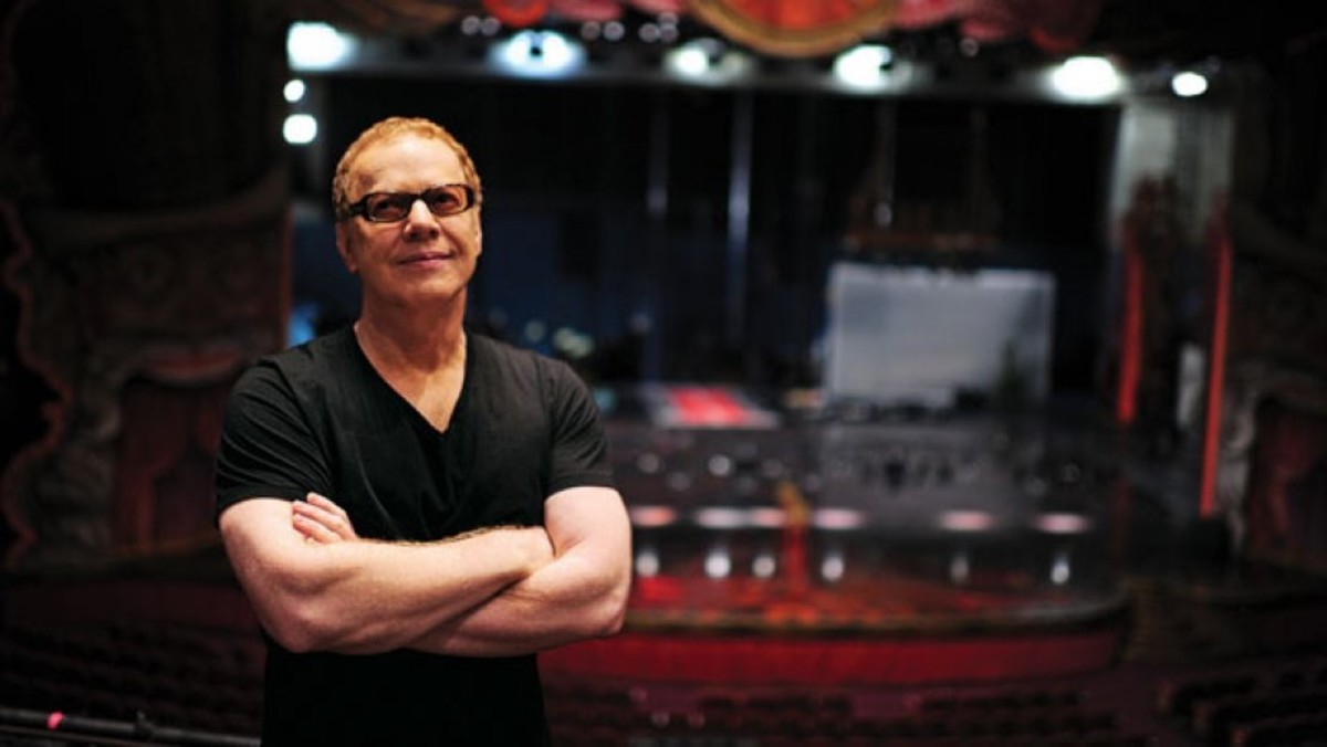 Composer Danny Elfman.