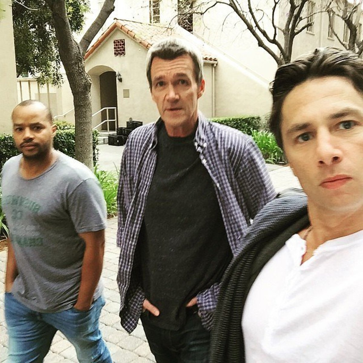 Even Neil Flynn has reunited with Faison and Braff, this time for the cameo appearance on Undateable.