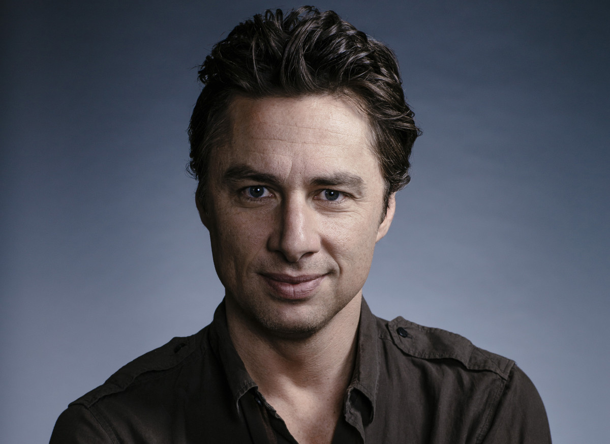 Zach Braff now!  (Pictured in 2014)