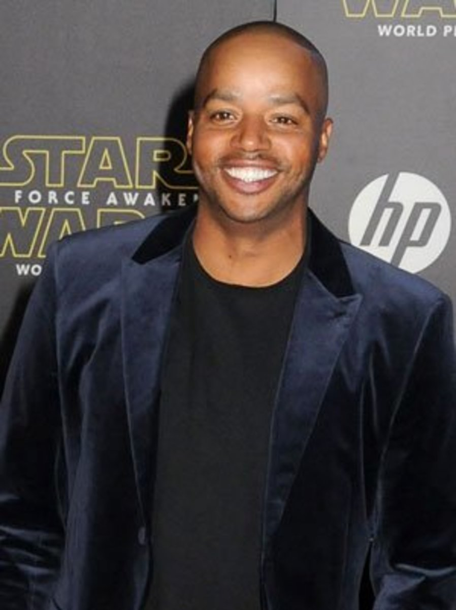 ...and Donald Faison now!