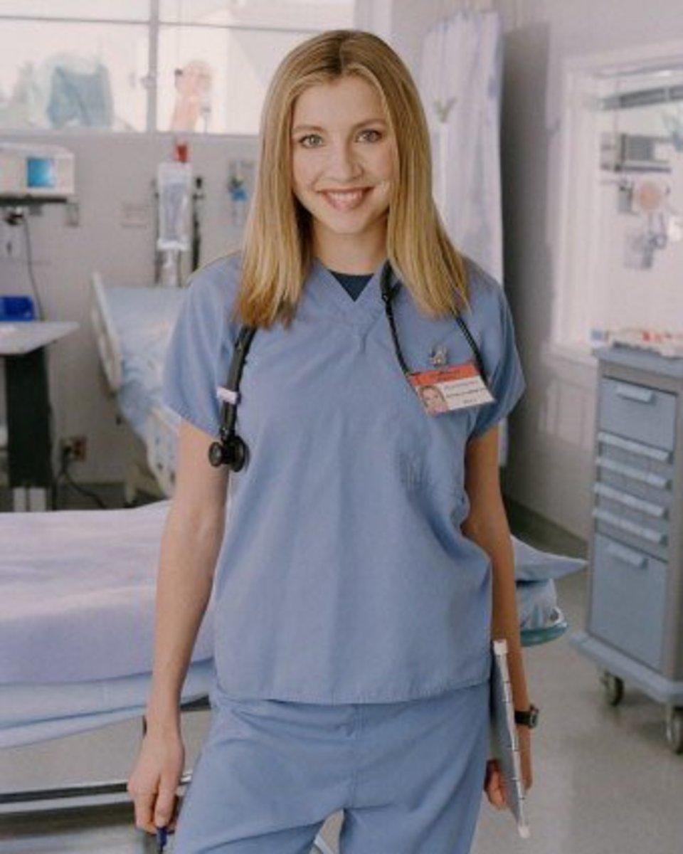 Sarah Chalke in 2001