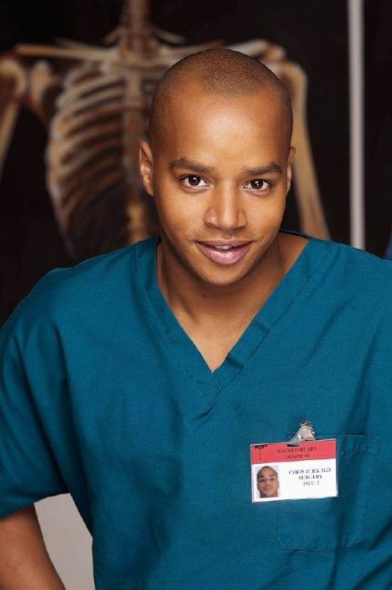 Donald Faison then...