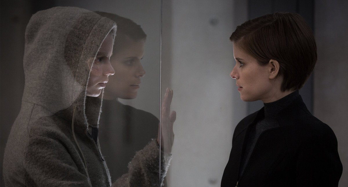 "Anya Taylor-Joy and Kate Mara in ""Morgan."""