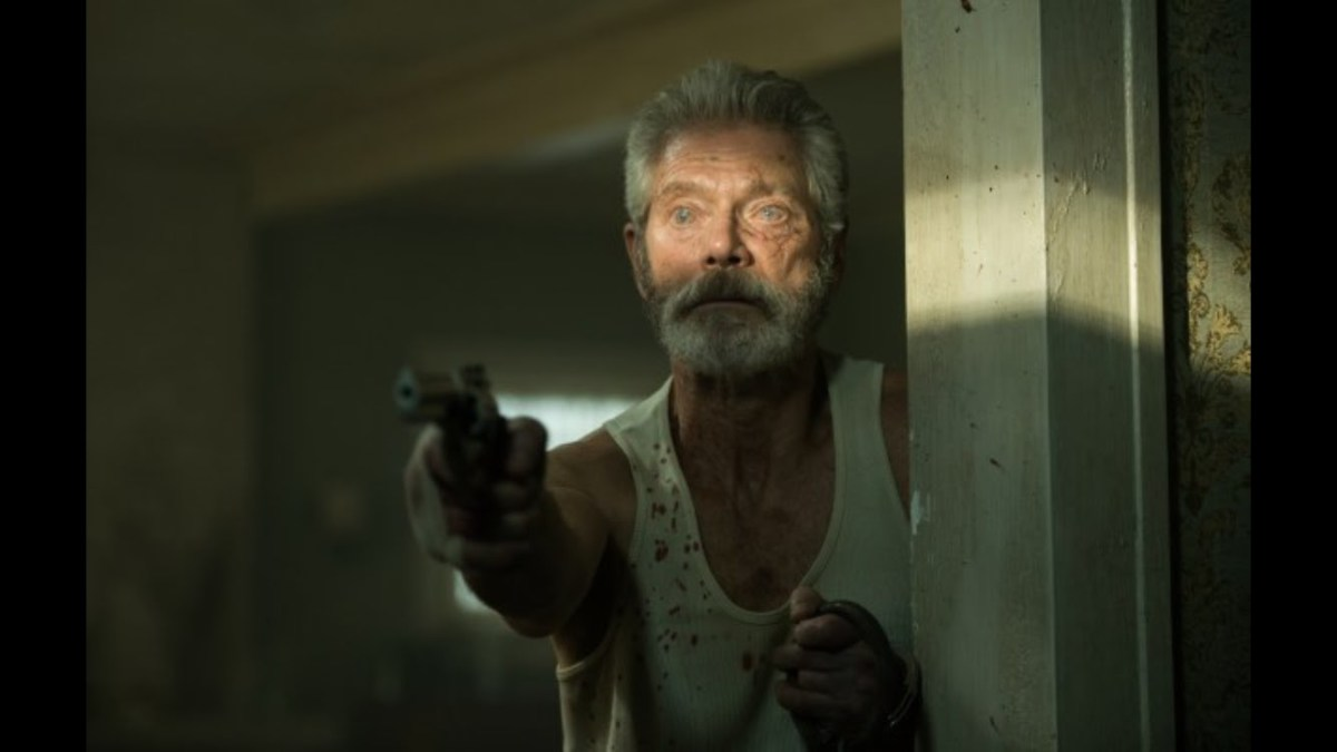 "Stephen Lang as The Blind Man in ""Don't Breathe."""