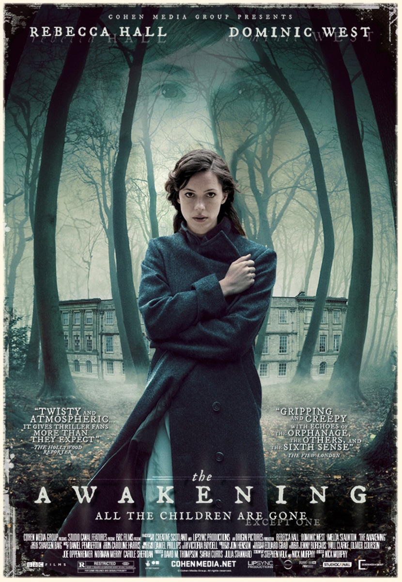 Movie poster for The Awakening (2011)