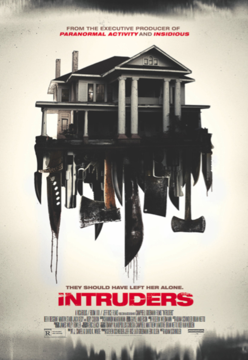 Movie poster for Intruders (2015)