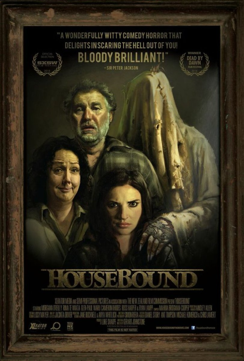 Movie poster for Housebound (2014)