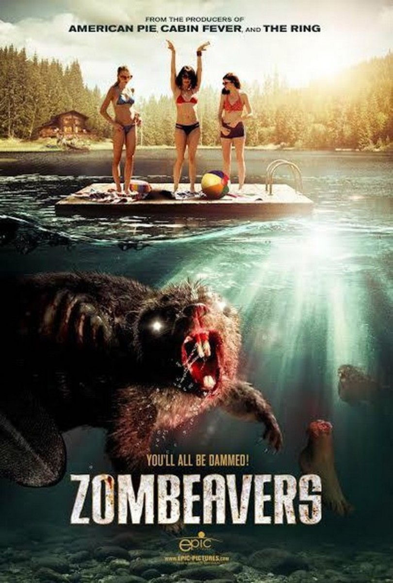 Zombeavers (2014) movie poster