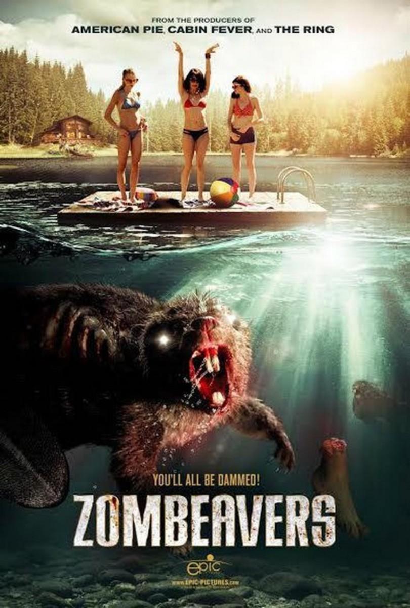 Zombeavers (2014) movie poster