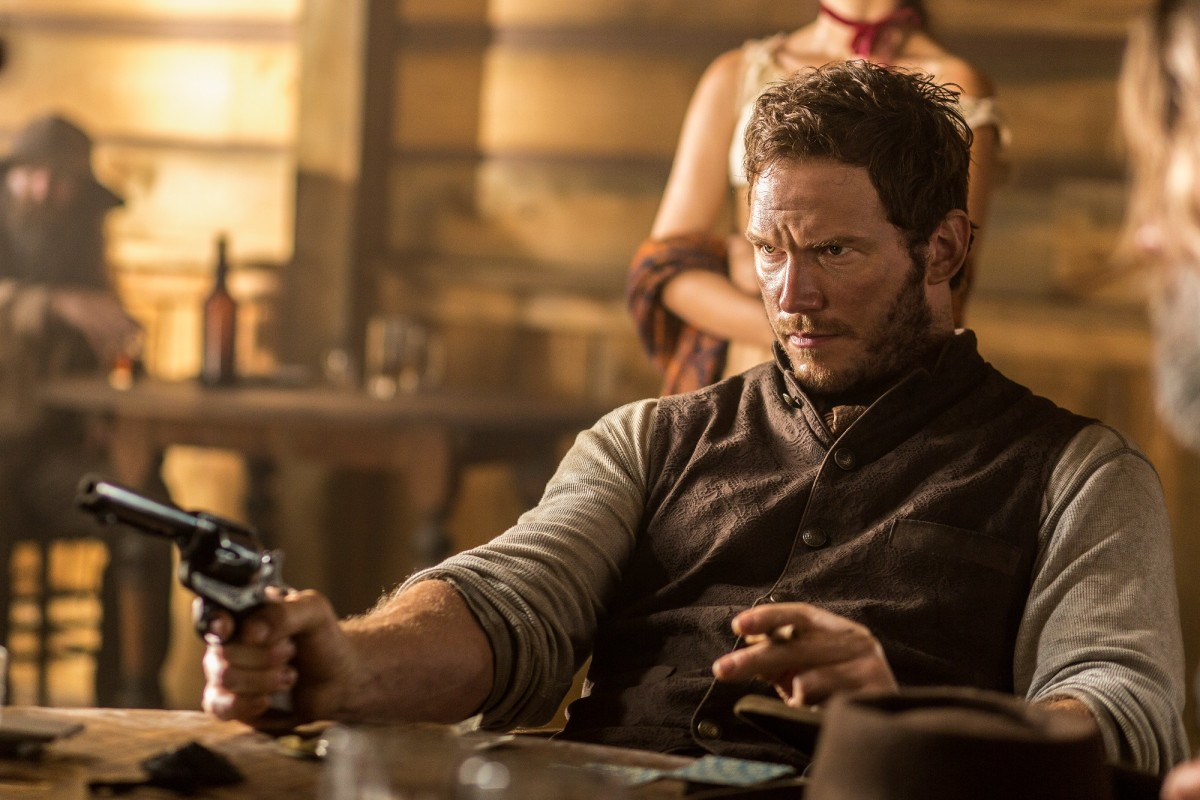 "Chris Pratt as Josh Farraday in ""The Magnificent Seven."""
