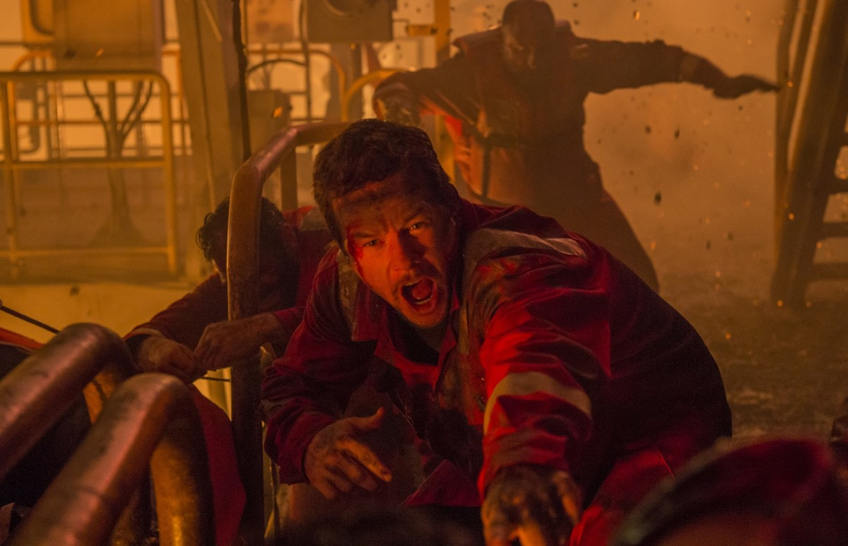 "Mark Wahlberg as Mike Wallace in ""Deepwater Horizon."""