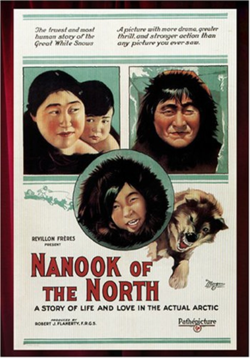 "This ""truest and most human story"" was plagued with controversy over staged scenes and false ""facts"", not the least of which was that Nanook's name was not even Nanook."