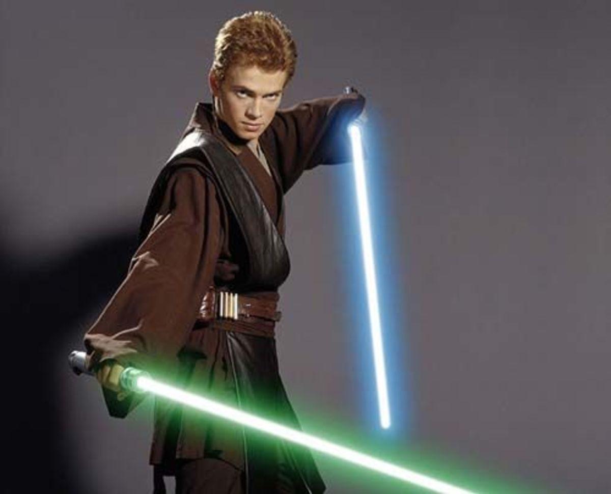 Anakin in Episode 2