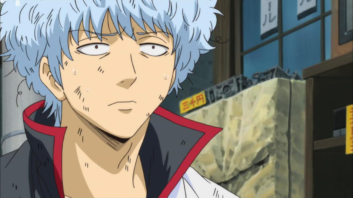 Gintama follows the life of a samurai who can't use his swords anymore.