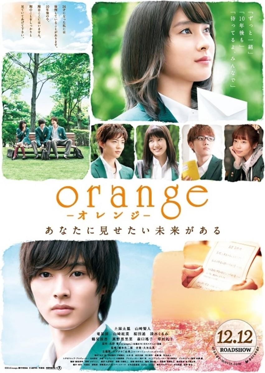 Orange poster.