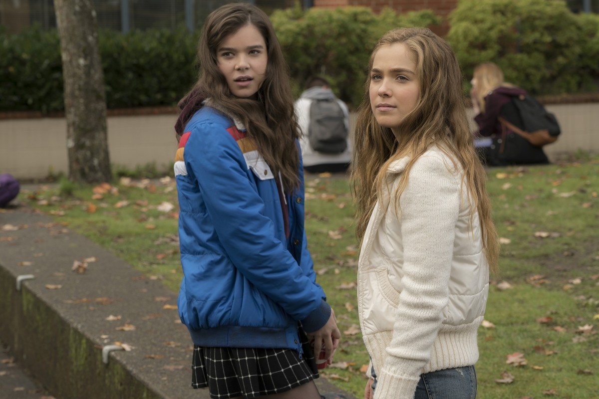 "Hailee Steinfeld and Haley Lu Richardson in ""The Edge of Seventeen."""