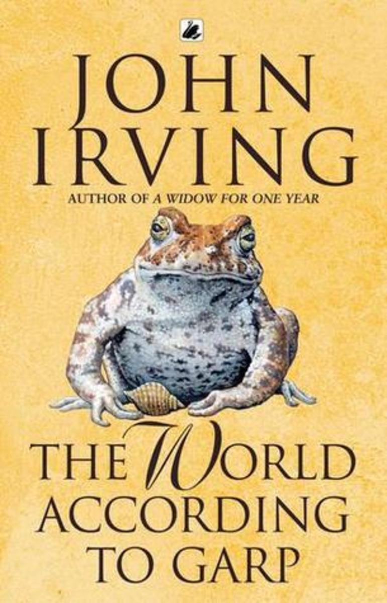 """The World According to Garp"" Book Cover"