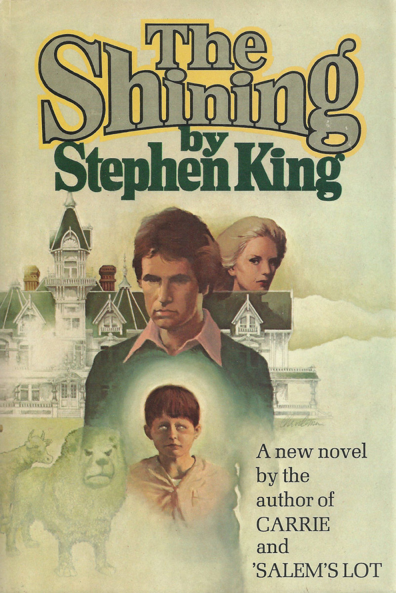 "King's ""The Shining"" Book Cover"