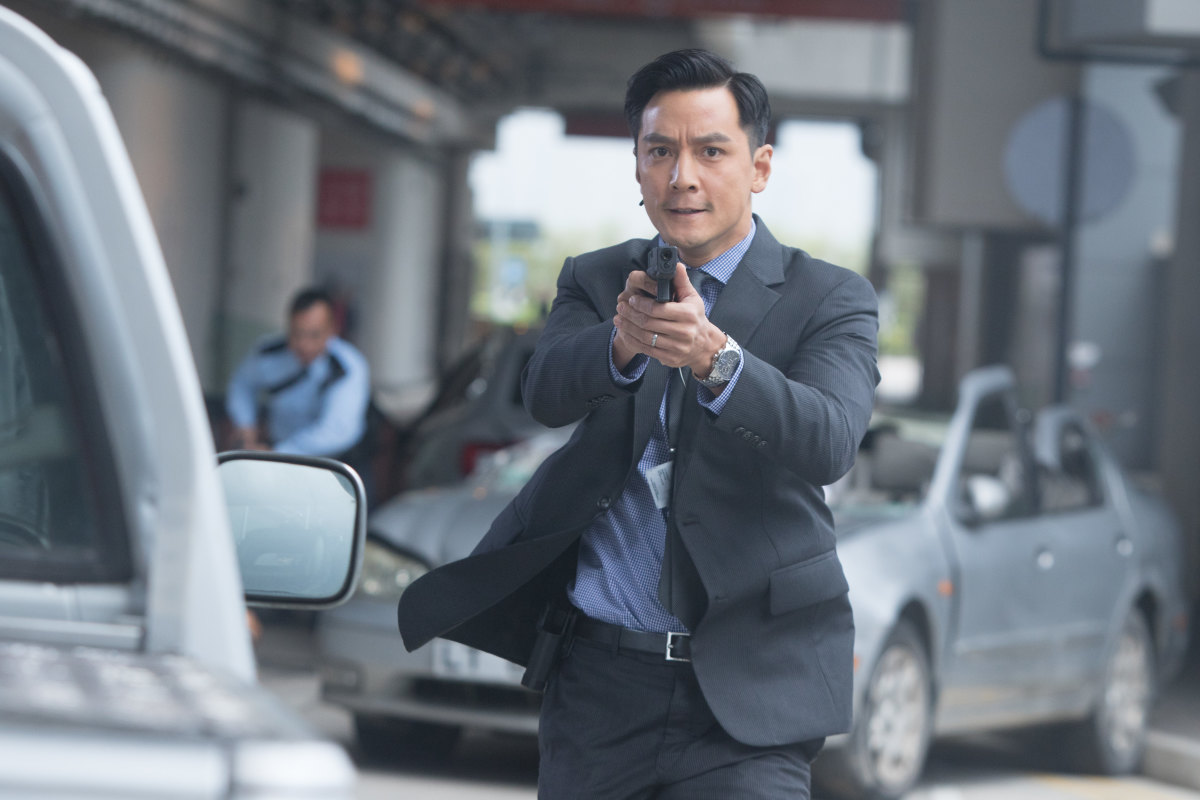 "Daniel Wu as Tinbo in ""Sky on Fire."""