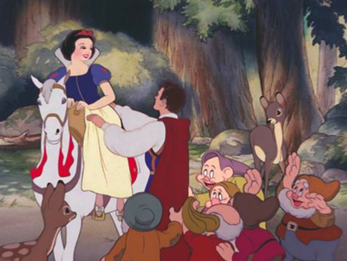 The 1916 live-action Snow White was one of the first films Disney ever saw. Naturally, this would draw inspiration for his first full-length feature. Disney also thought that the dwarfs would make great cartoon characters.