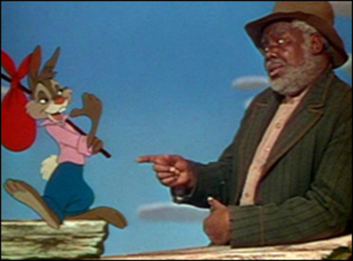 Song of the South (1946) was one of the earliest Disney films to include live actors. The Film combines animation and live action to tell the stories of Brer Rabbit, a jack-like figure who seems to always squeeze his way out of trouble.