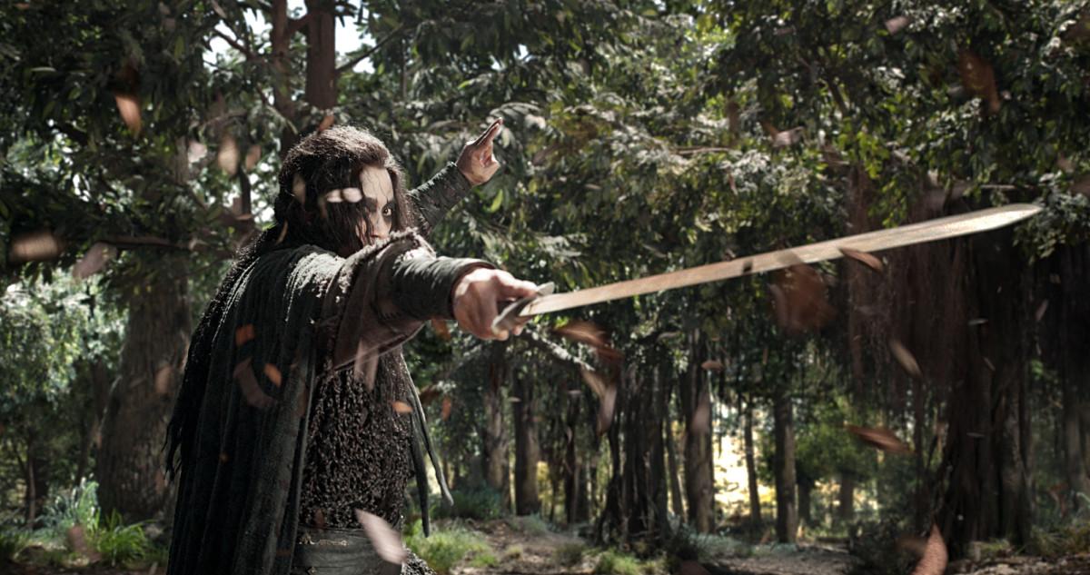 """Peter Ho as Swordmaster Yen in """"Sword Master."""""""