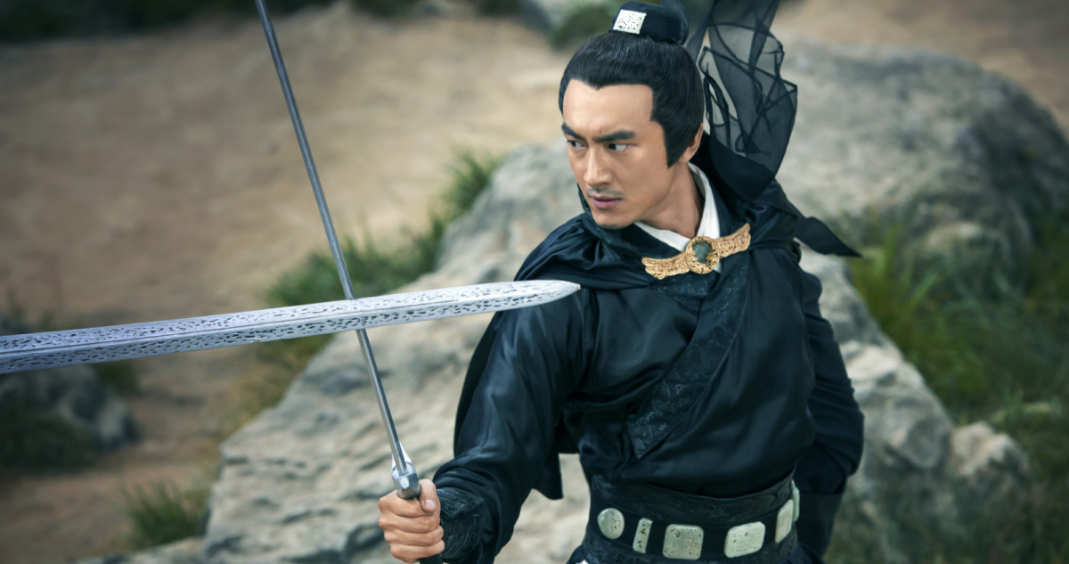 "Kenny Lin as Hsieh Shao-Feng in ""Sword Master."""