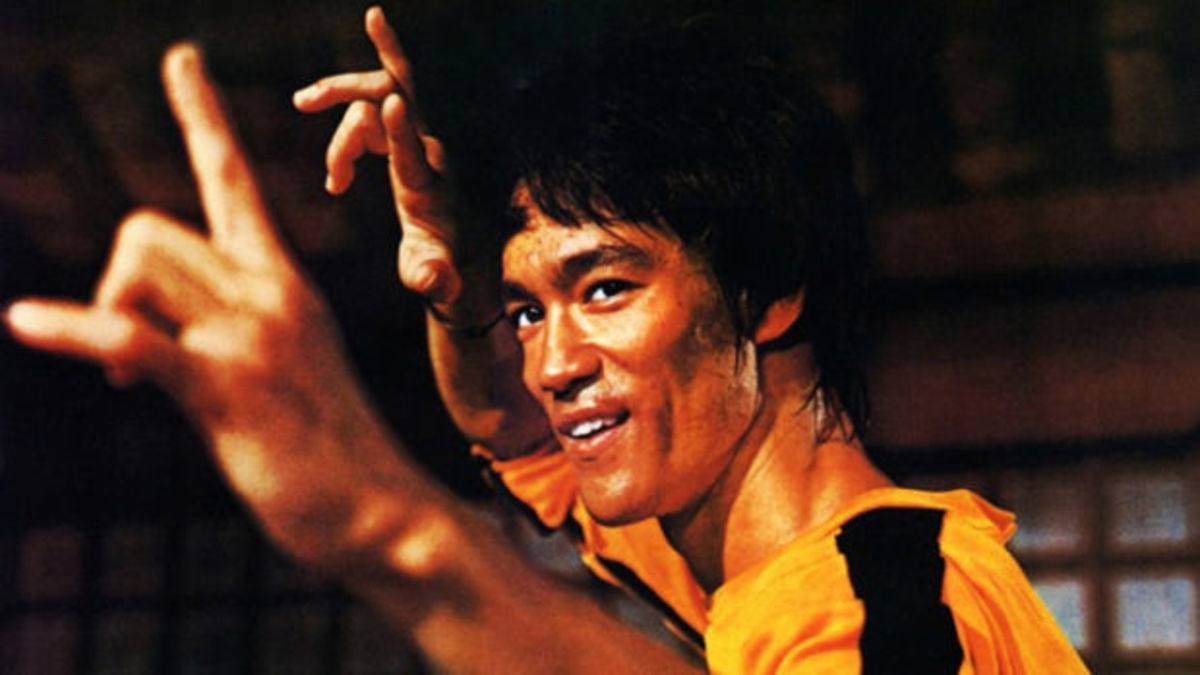 Bruce Lee is the first non-White action star to become successful in the West.  His influence continues to this day
