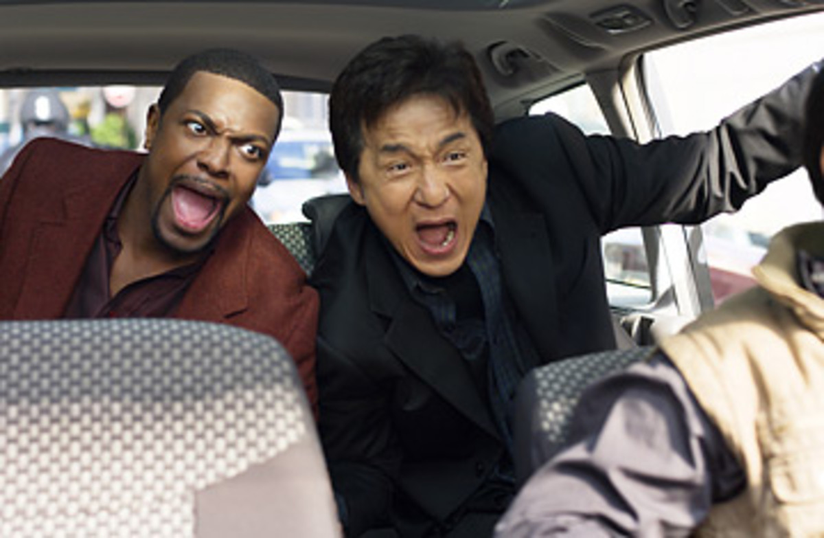 Jackie Chan is best known to Americans for his performance in the Rush Hour movies.  It also opened the doors for other Asian action actors.