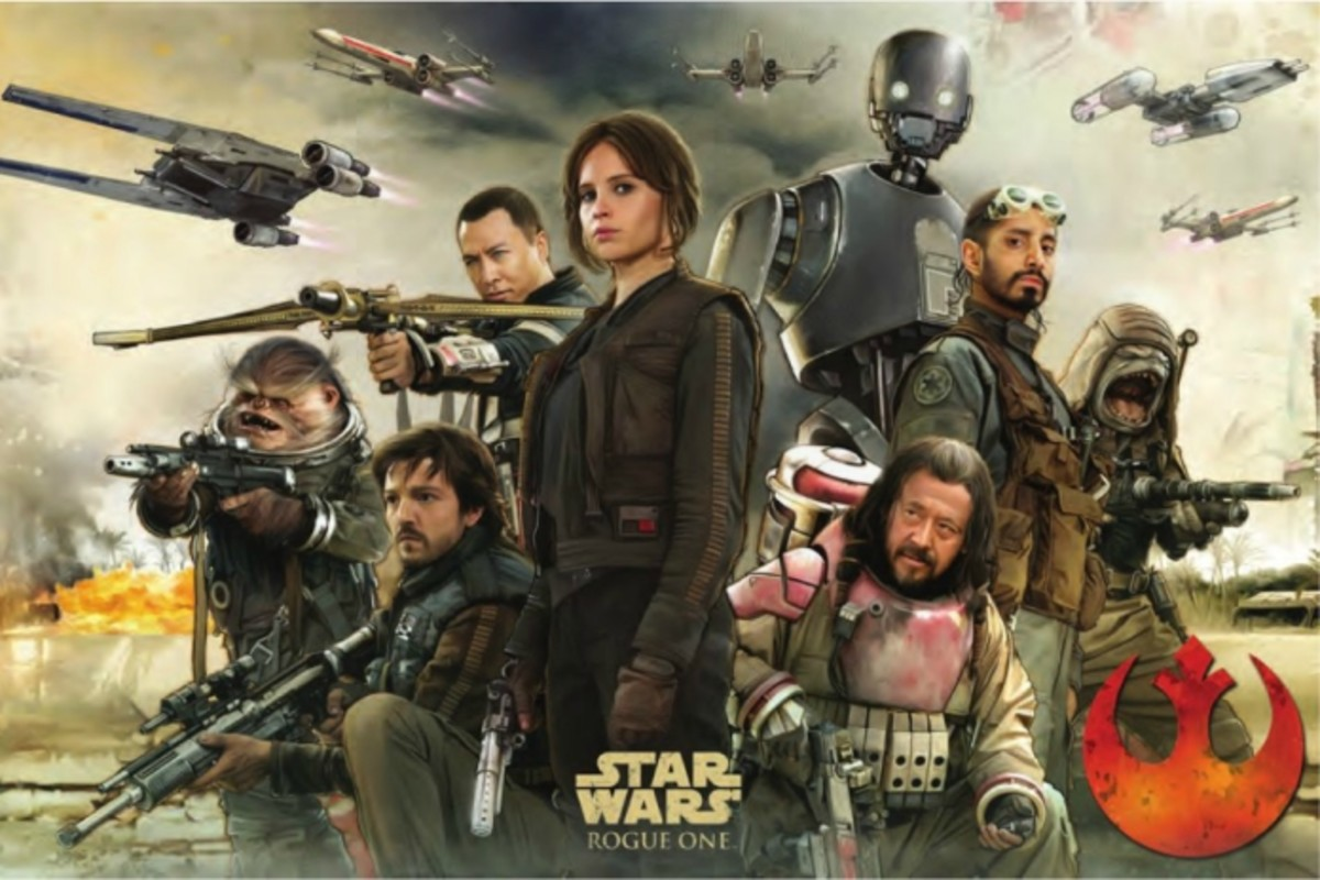 The Rebel protagonists of Rogue One