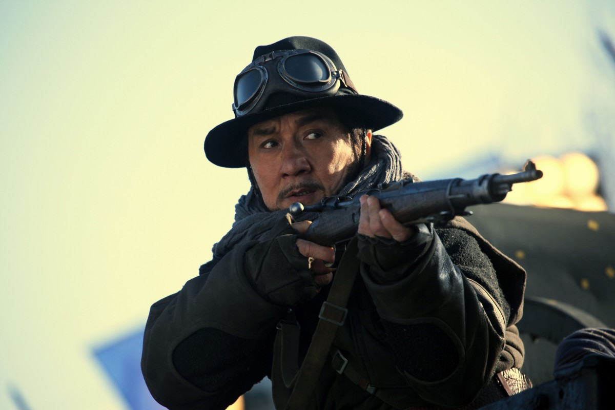 "Jackie Chan as Ma Yuan in ""Railroad Tigers."""