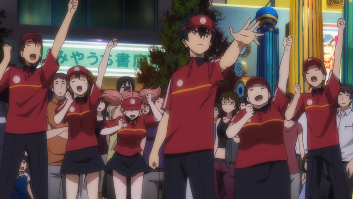 Hataraku Maou-sama! (The Devil is a Part-Timer!)