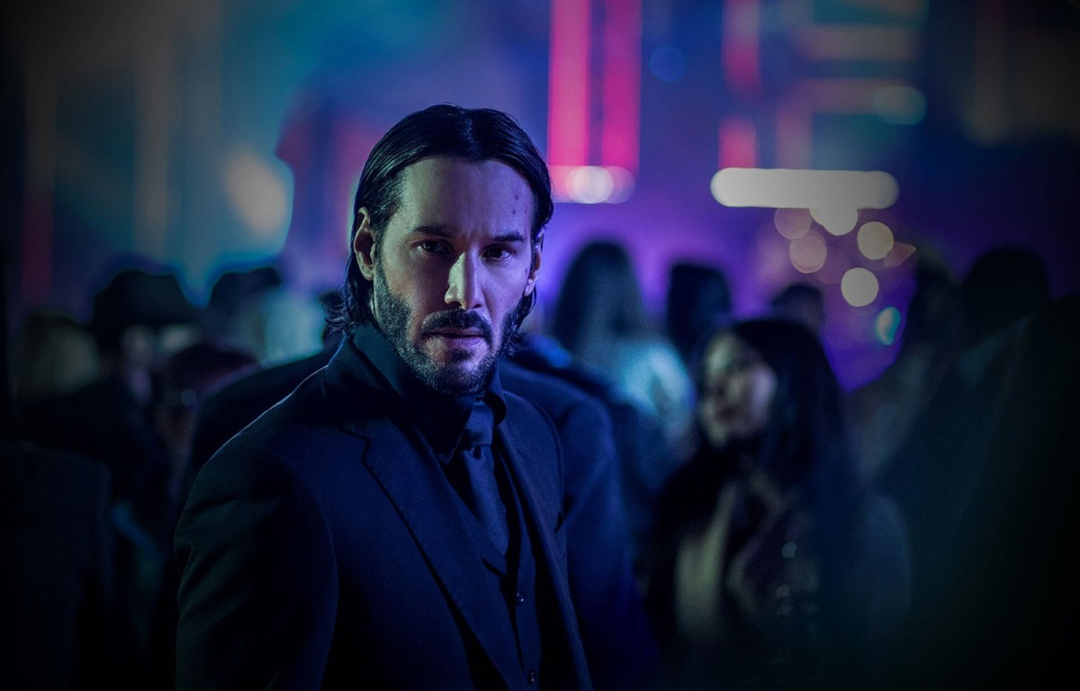 "Keanu Reeves as John Wick in, ""John Wick: Chapter 2."""