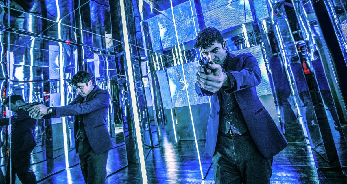 "Riccardo Scamarcio as Santino D'Antonio in, ""John Wick: Chapter 2."""