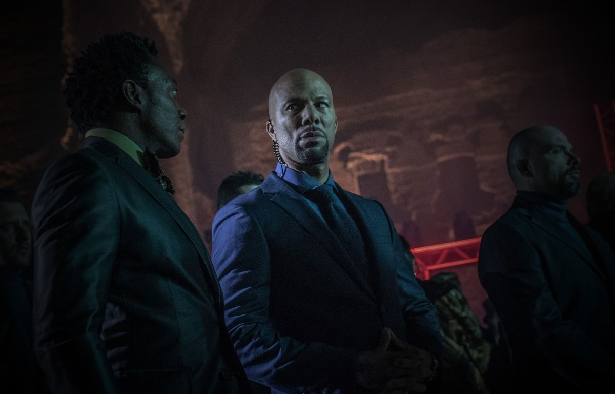 "Common as Cassian in, ""John Wick: Chapter 2."""